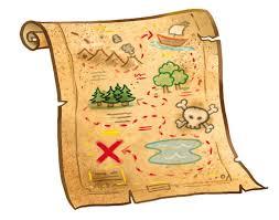 mappa della caccia al tesoro a castiglione del lago